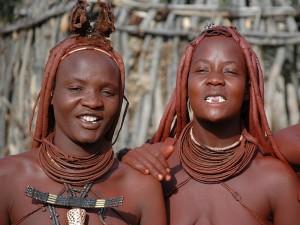 Дети племени химба