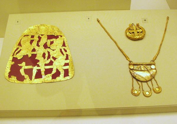 Коллекция ювелирных украшений из музея Ираклиона