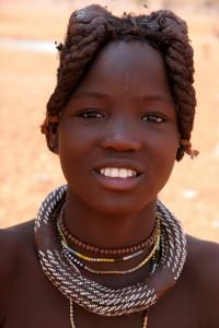 Причёски и украшения химба