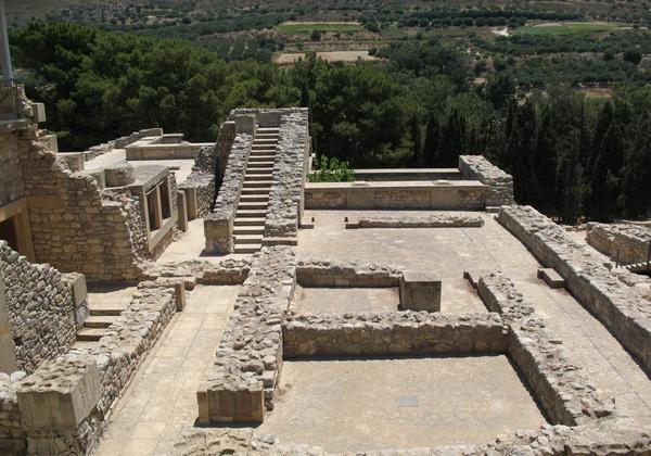 Руины Кносского дворца на Крите