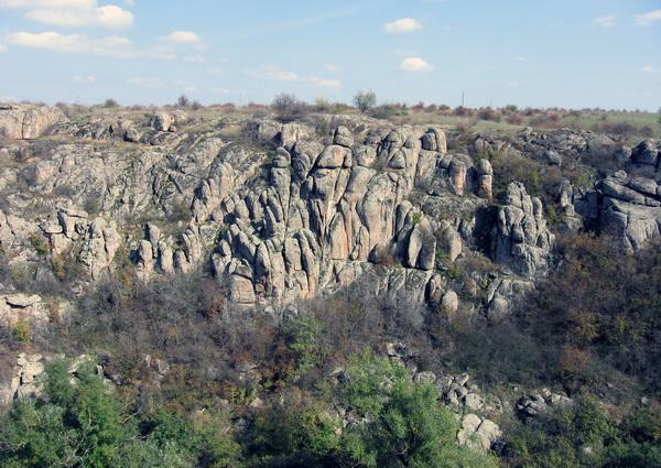 Актовский и Арбузинский каньоны