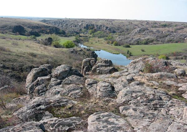 Поход по Актовскому каньону