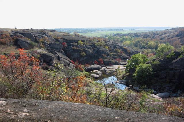 Актовский каньон в Украине