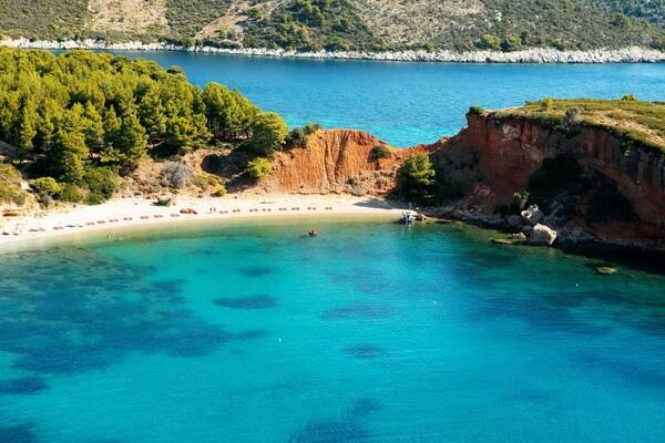 Морской парк Алонисос в Греции