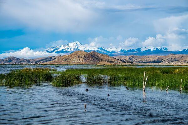 Достопримечательности плато Альтиплано - Озеро Титикака