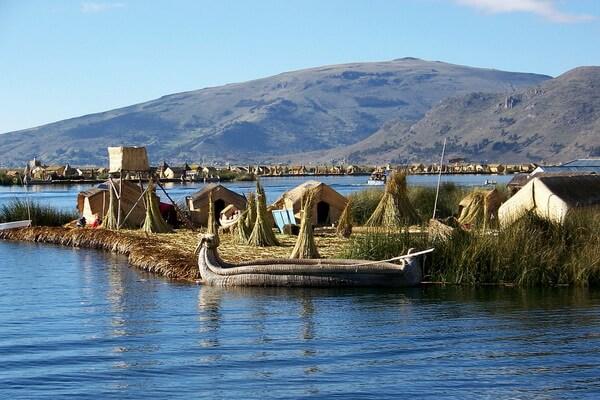 Достопримечательности Альтиплано - Озеро Титикака