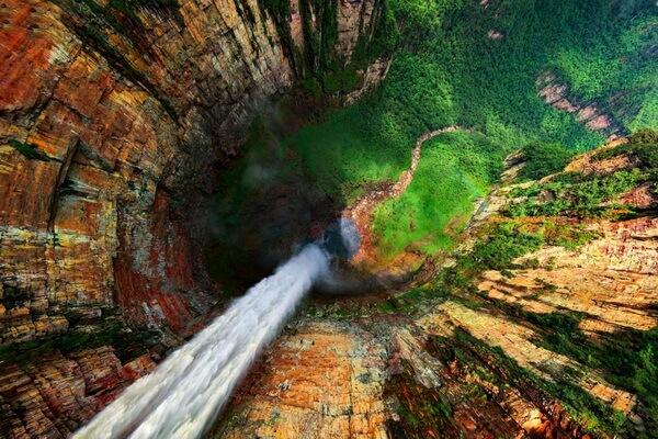 Водопад Анхель в Венесуэле - история открытия