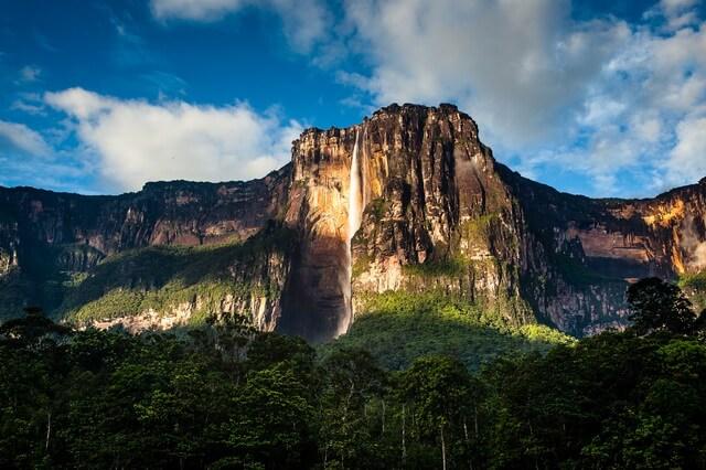 Анхель в Венесуэле - самый высокий водопад в мире