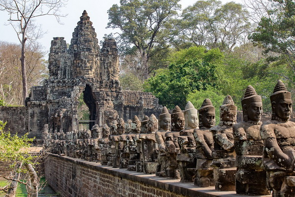 Храмовый комплекс Ангкор-Ват в Камбодже