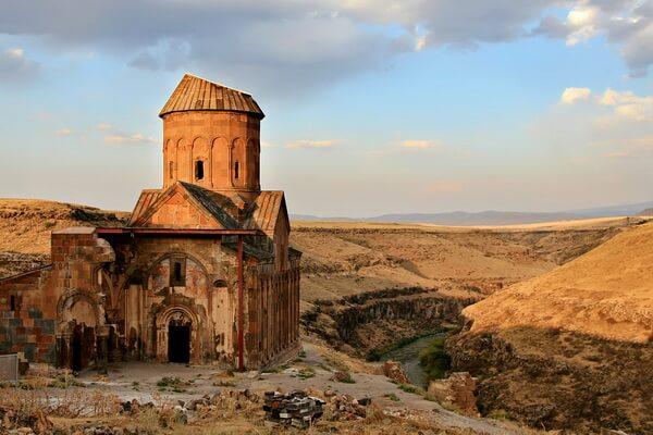 Армянские церкви города Ани в Турции