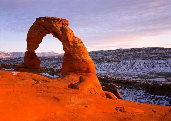 Лучшие места для скалолазания в США - Парк Арки в Юте