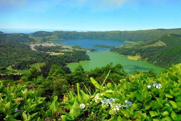Самые красивые места Европы - Азорские острова, Португалия