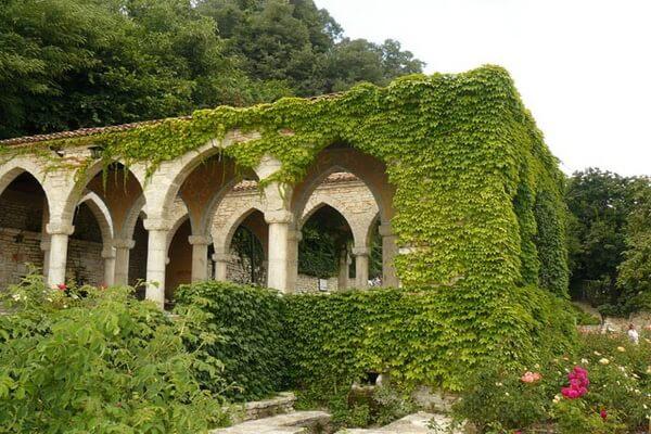 Сад королевского дворца Балчик, Болгария