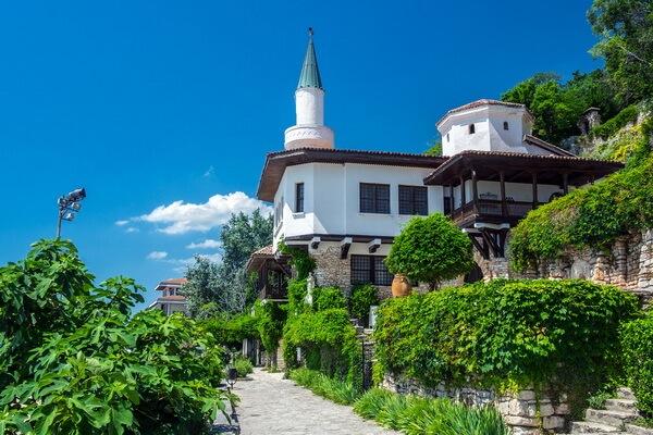 Балчик - дворец румынской королевы Марии в Болгарии