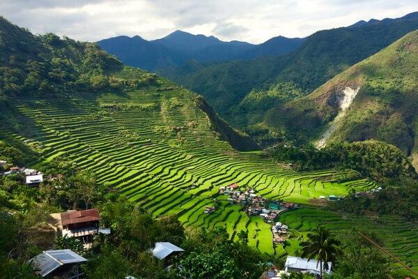 Террасы Банауэ на Филиппинах