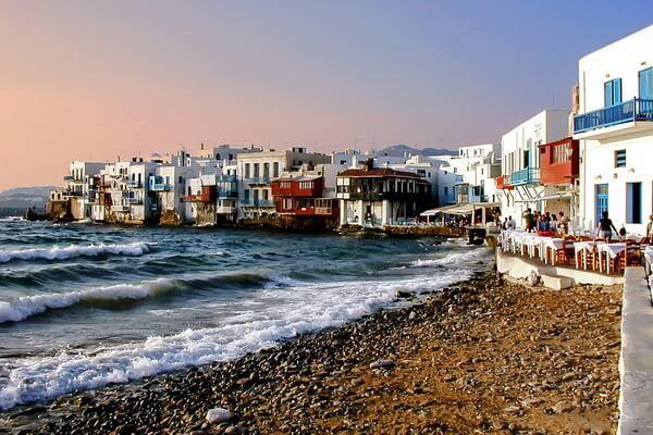 Лучшие греческие острова - Миконос
