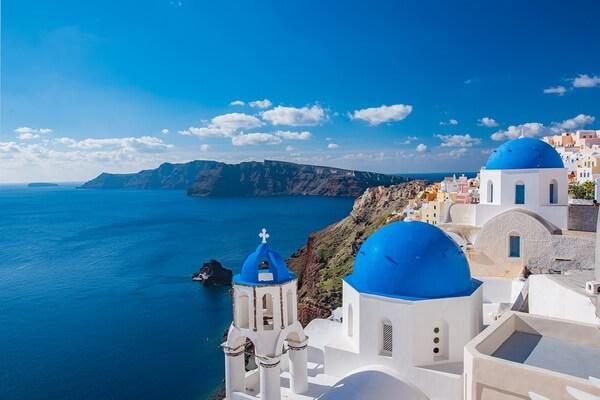 Лучшие греческие острова - Санторини