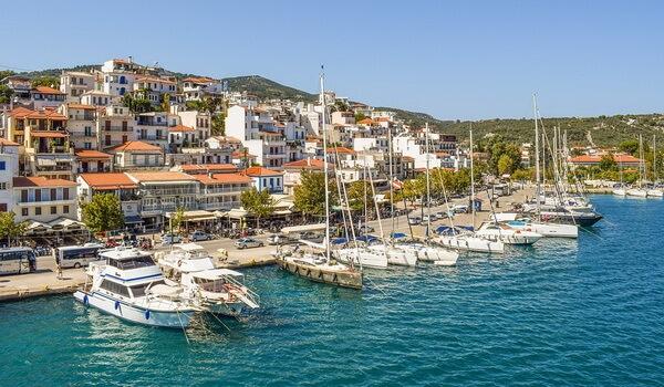 Лучшие греческие острова - Скиатос