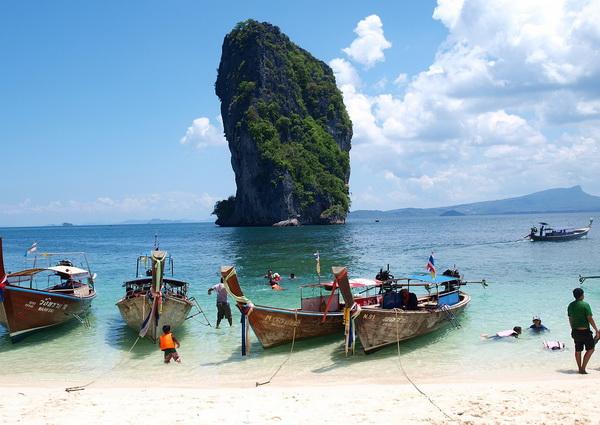 Популярные места киносъёмок в Таиланде - Краби