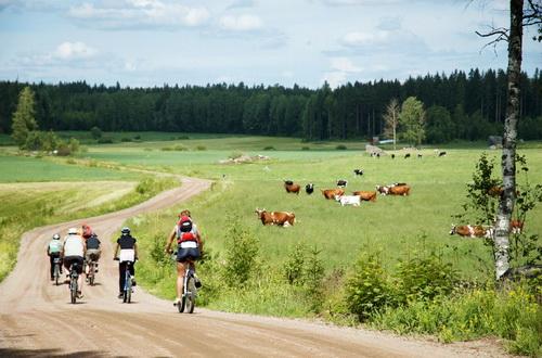 Велопутешествия по Финляндии