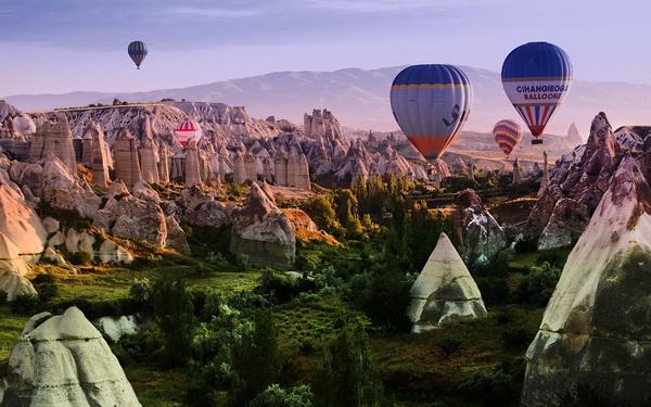 Полёты на воздушном шаре в Каппадокии