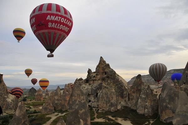 Полёты на воздушном шаре в Турции - Каппадокия