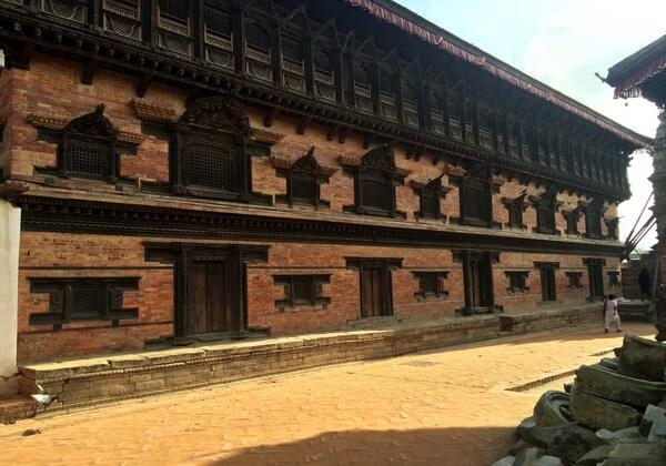 Бхактапур - Дворец 55 окон