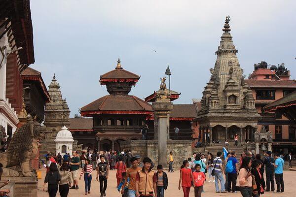 Храмы и площади Бхактапура (Непал)