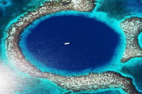 Большая голубая дыра, Белиз (Центральная Америка)