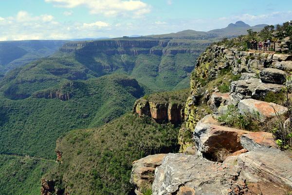 Каньон реки Блайд в Южной Африке