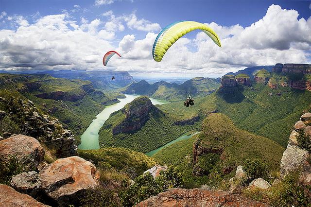 Каньон реки Блайд в ЮАР