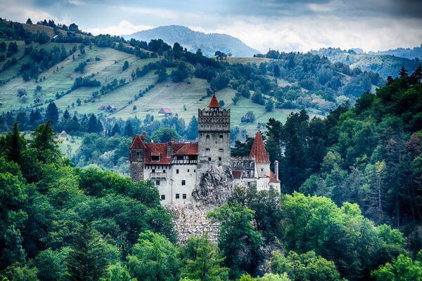 История замка Бран в Румынии