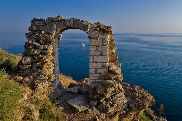 Фото мыса Калиакра (Болгария)
