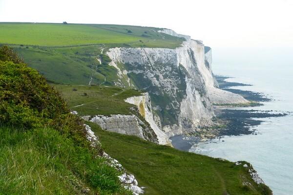Природные достопримечательности Европы с фото и описанием - Белые скалы Дувра в Англии
