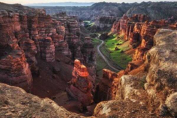 Чудеса природы Казахстана с фото и описанием - Чарынский каньон