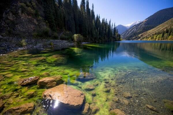 Чудеса природы Казахстана с фото и описанием - Кольсайские озёра