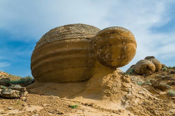 Природные достопримечательности Казахстана с фото и описанием - Долина шаров Мангышлак