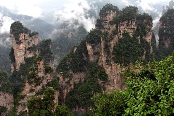 Природные достопримечательности Китая с фото и описанием - Улинъюань