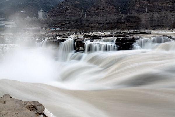 Природные достопримечательности Китая с фото и описанием - Водопад Хукоу