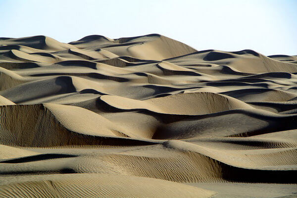 Природные достопримечательности Китая с фото и описанием - Пустыня Такла-Макан