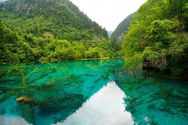 Природные достопримечательности Китая с фото и описанием - Национальный парк Цзючжайгоу
