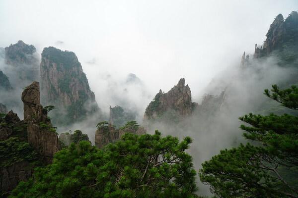 Природные достопримечательности Китая с фото и описанием - Горы Хуаншань