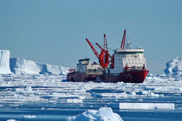 Чукотское море - основные порты