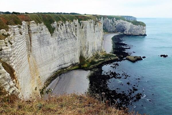 Экскурсии к скалам Этрета в Нормандии