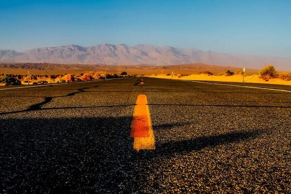Пустыня Долина смерти в США