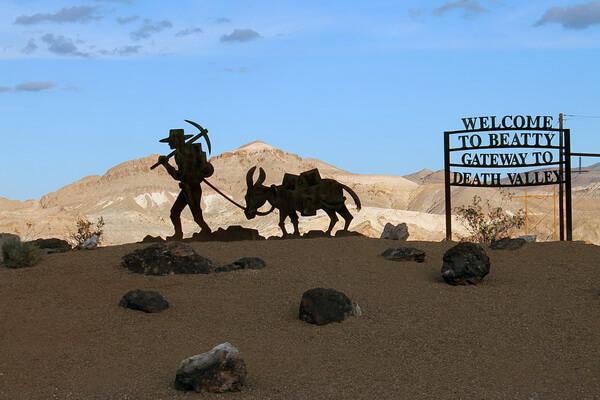 История освоения пустыни Долина смерти в США