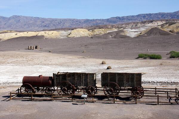 Пустыня Долина смерти в Калифорнии - история освоения