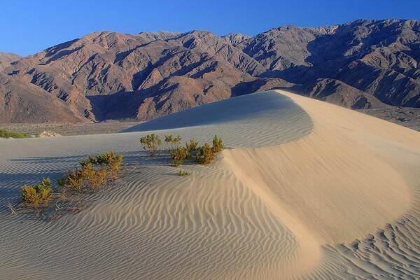 Достопримечательности пустыни Долины смерти - Песчаные дюны Эврика