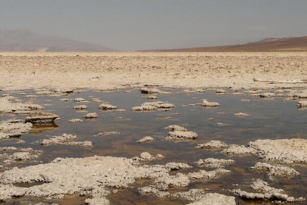 Достопримечательности пустыни Долины смерти - Соляная долина Бэдуотер