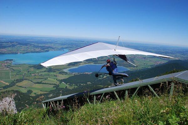 Где можно летать на дельтаплане